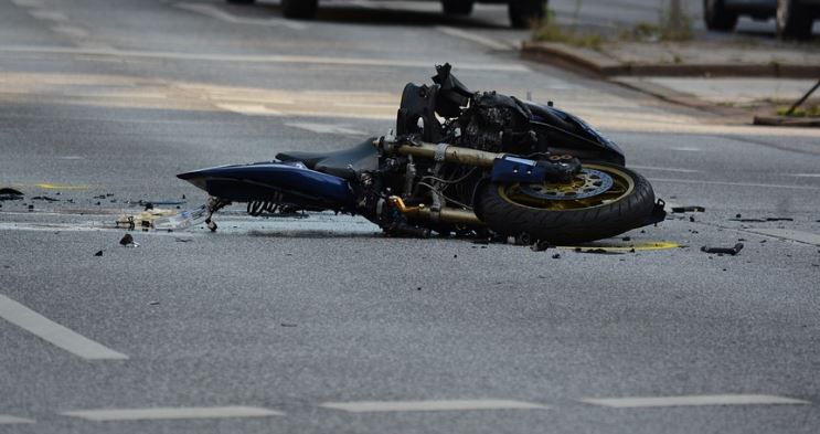 мотоциклет мотоциклетист катастрофа мотор