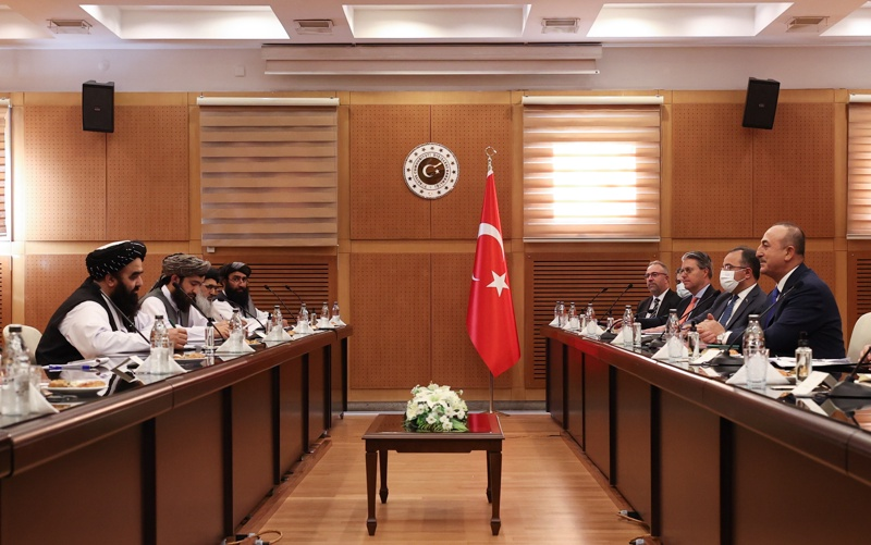 Талибани Турция Анкара