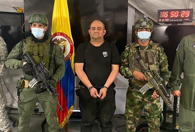 Отониел Колумбия наркокартел Залива