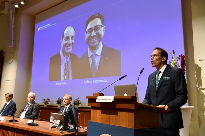 Нобелова награда за медицина 2021
