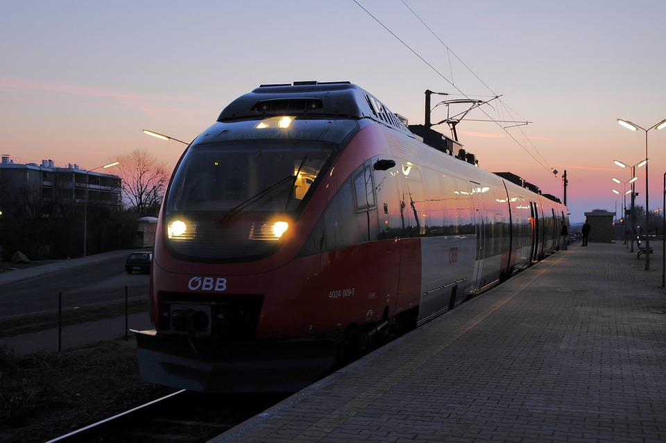 влак Австрия