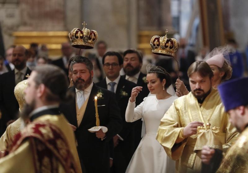 Романови сватба Санкт Петербург