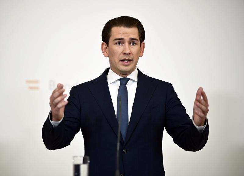 Курц оставка Австрия