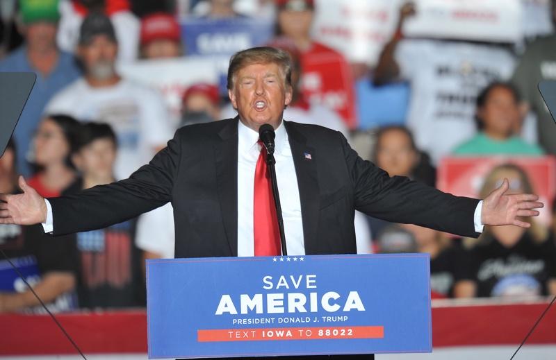 Доналд Тръмп митинг Айова