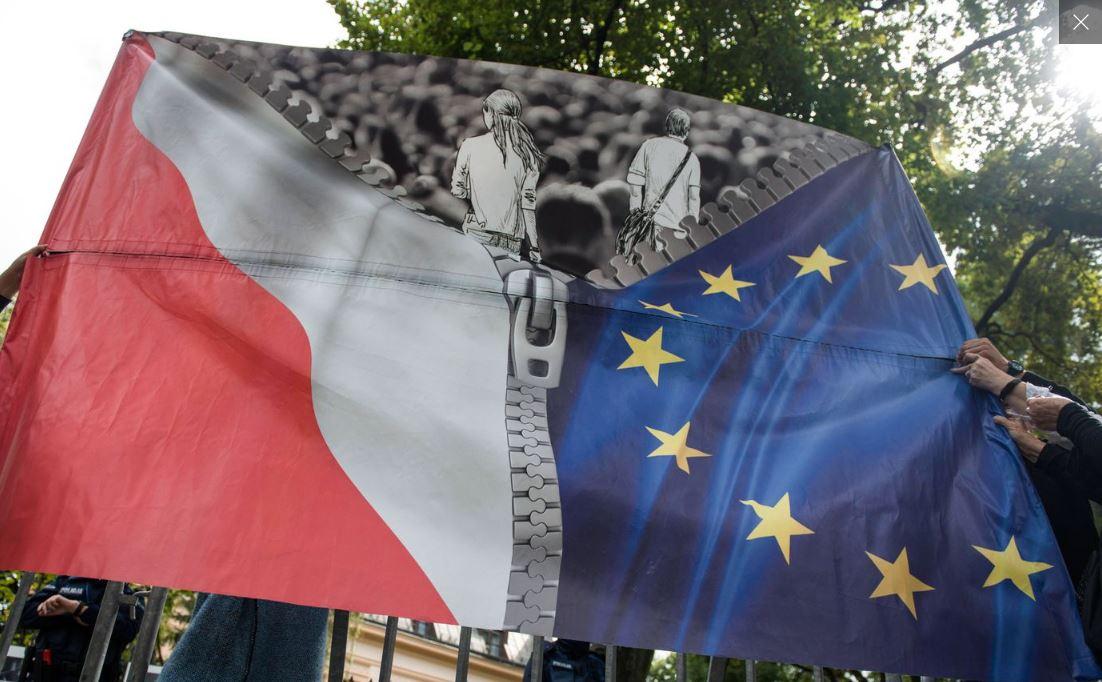 Полша Европейски съюз разрив