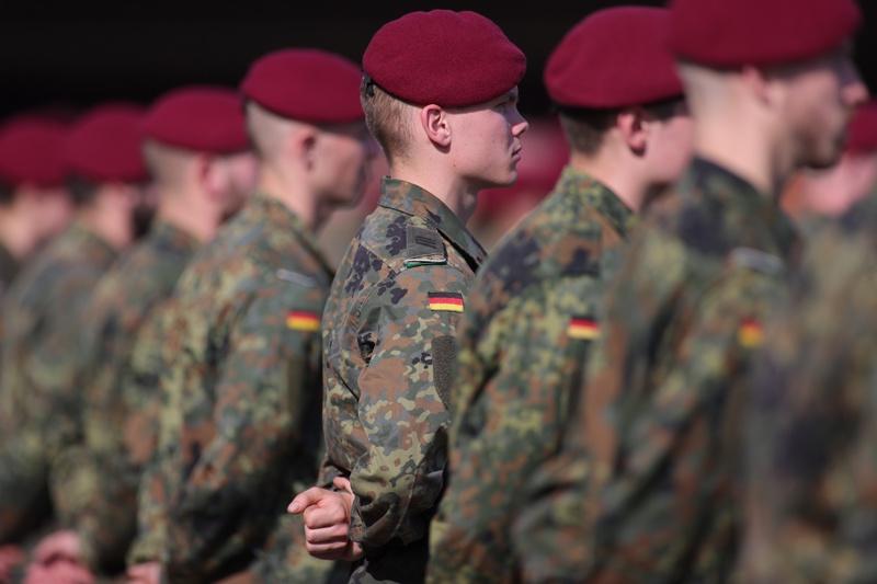 Германия Бундесвер войници