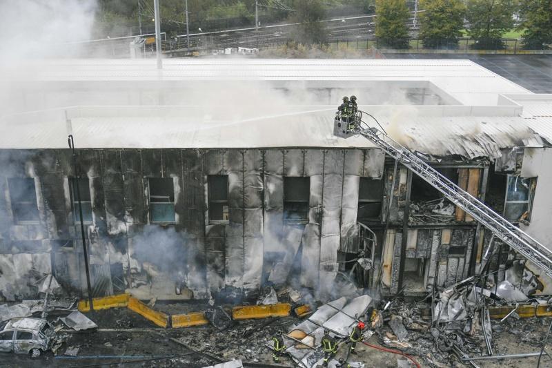 Милано катастрофа самолет
