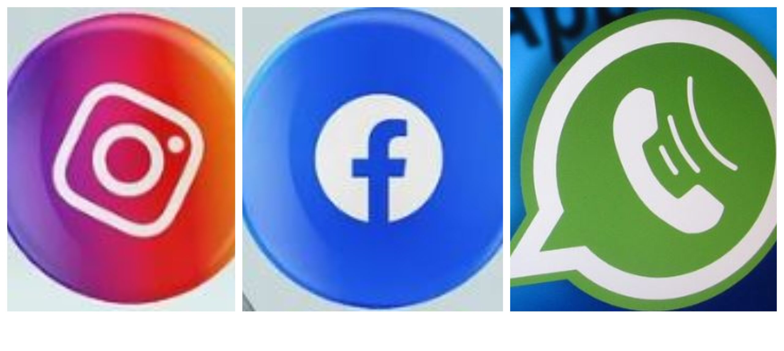 Facebook Instagram WhatsApp Фейсбук Инстаграм