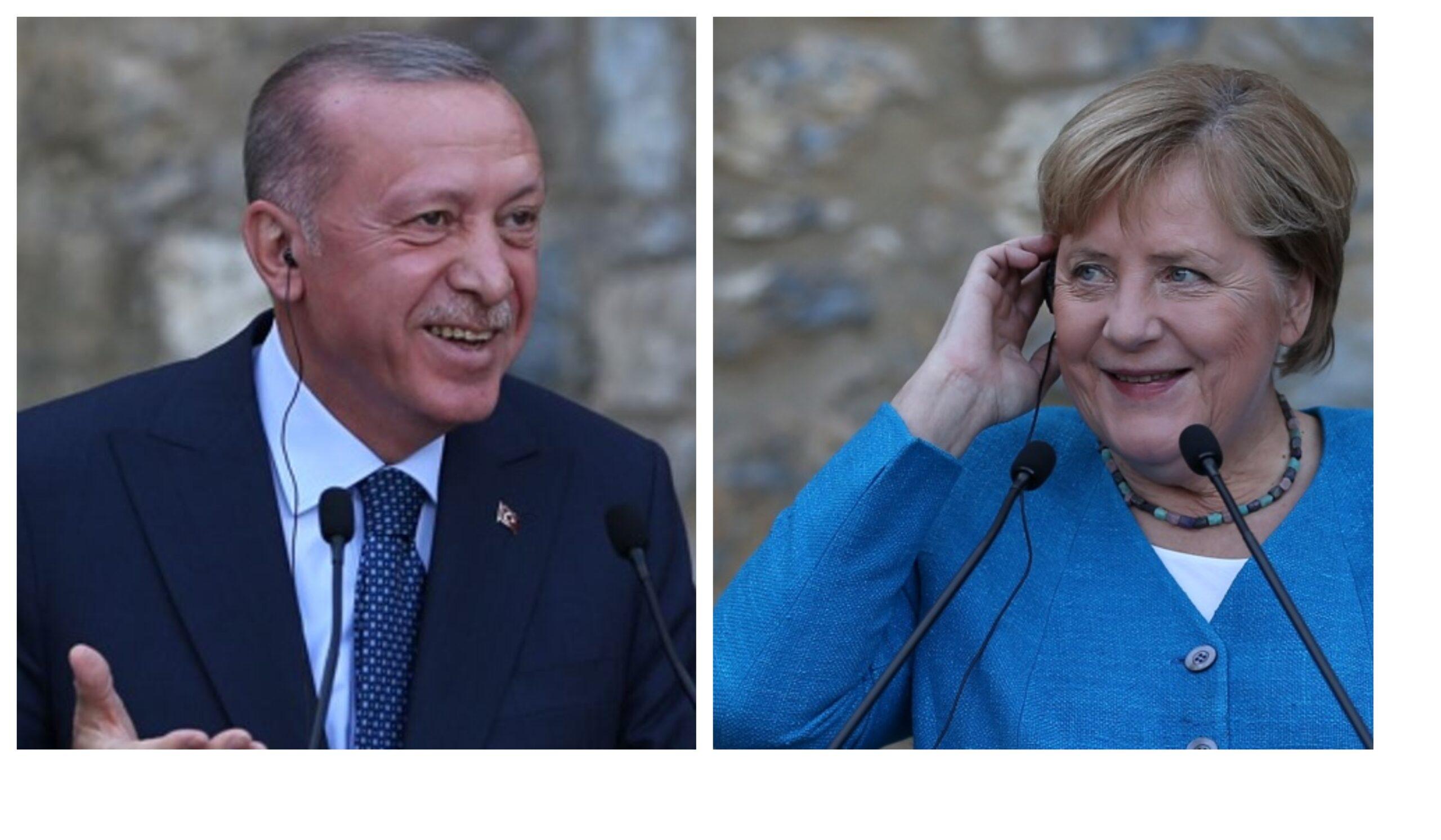 Меркел Ердоган Истанбул