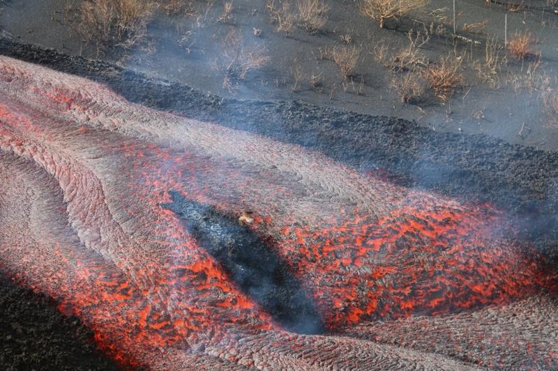вулканът на Канарските острови