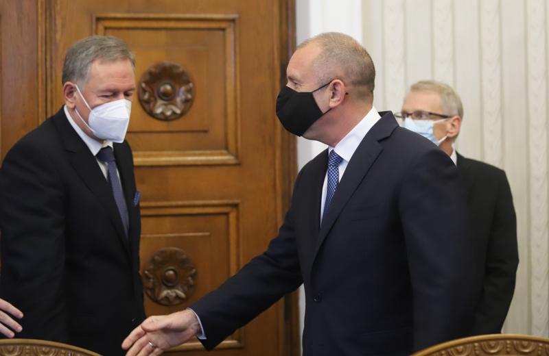 Румен Радев и Стойчо Кацаров