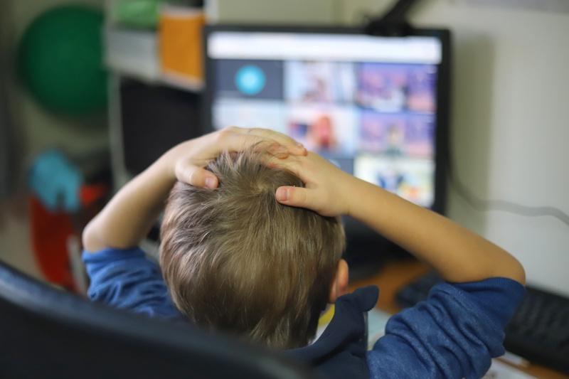 ученици, онлайн