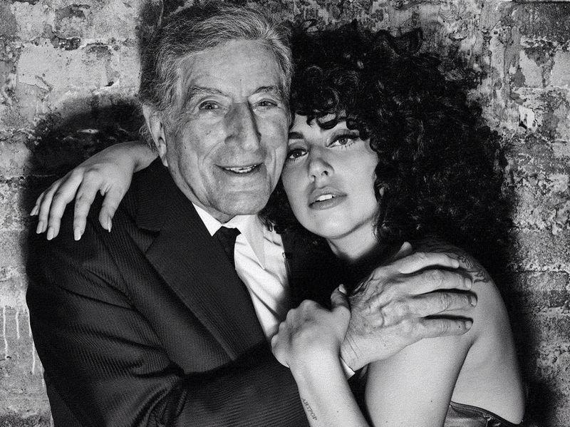 Тони Бенет и Лейди Гага